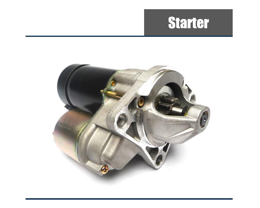 Starter Motor in Diesel Engine Parts Store
